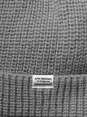 Шапка Alpha Industries Essential Watch Cap Medium Charcoal Heather (Серая)