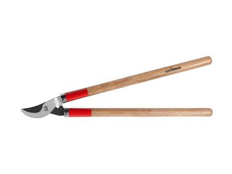 Плоскостной сучкорез с деревянными рукоятками, GRINDA