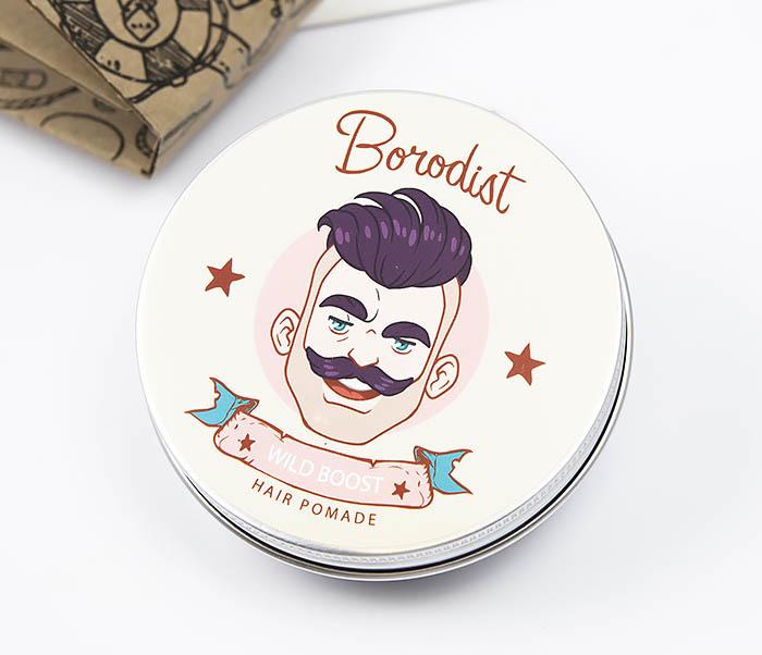 CARE114 Прозрачная помада для волос «WILD BOOST» от Borodist