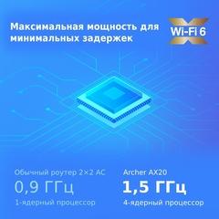 TP-Link Archer AX20 - AX1800 Двухдиапазонный Wi-Fi 6 роутер
