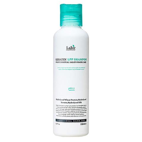 Lador Шампунь для волос кератиновый - PH 6.0 Keratin LPP shampoo, 150мл
