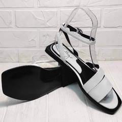Белые босоножки сандали женские Brocoli H1886-9165-S873 White.