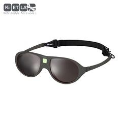 Очки солнцезащитные детские Ki ET LA Jokala 2-4 года. Strong Grey (темно-серый)