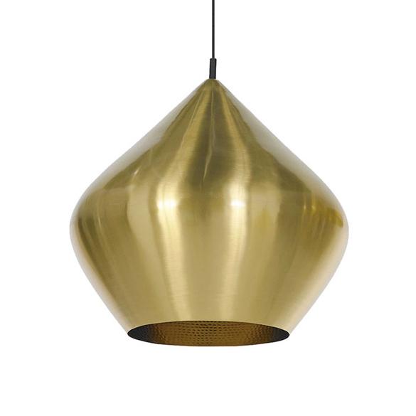 Подвесной светильник копия Beat Light Stout by Tom Dixon D52 (золотой)