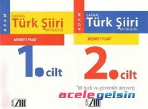 Çağdaş Türk Şiiri Antolojisi I - II