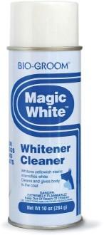 Груминг, уход за шерстью Белый выставочный спрей-мелок для собак и кошек, Bio-Groom Magic White, 284 мл 51714.jpg