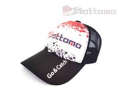 Бейсболка Mottomo черная с лого