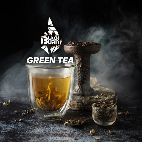 Табак Burn Black Green Tea (Зеленый чай) 100 г