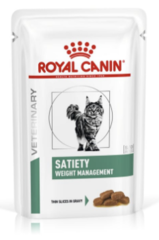 Пауч для кошек, Royal Canin Satiety Weight Managements Feline, при ожирении