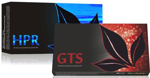 APL. Набор Аккумулированные драже APLGO HPR+GTS для защиты и восстановления печени, повышения тонуса