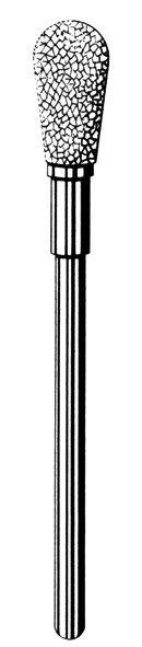 Лабораторные алмазные инструменты «SS WHITE» серия LAB 77/1065 Группа I. Крупная крошка.