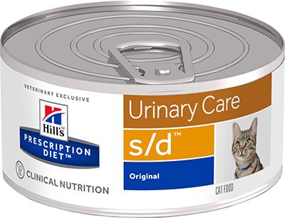 Влажные корма Ветеринарный корм для кошек Hill`s Prescription Diet s/d Multicare, для растворения струвитов сд.png