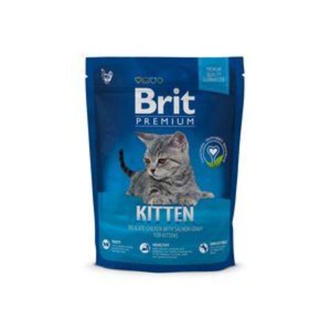 3896 Brit Premium Cat Kitten д/котят с Курицей 300гр*10
