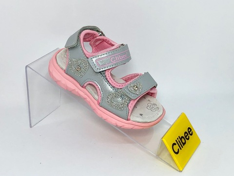 Clibee Z532 Silver/Pink 20-25