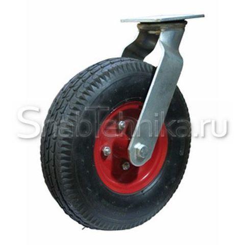 Пневматическая поворотная колесная опора SC 400 (колесо пневматическое камерное).