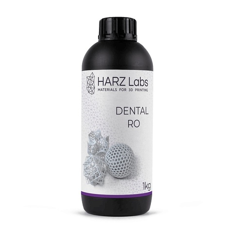 Фотополимер HARZ Labs Dental RO, белый (1000 гр)