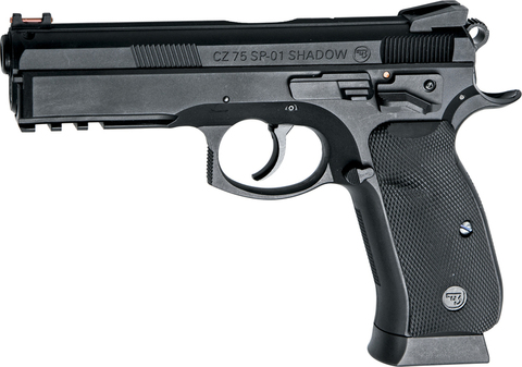 Пистолет пневматический ASG CZ SP-01 SHADOW, nbb (21 ВВ / одиночного/двойного действия) (артикул 17526)