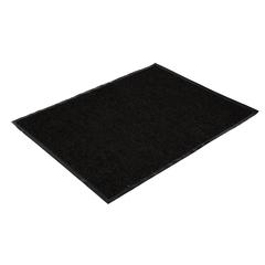 Коврик влаговпитывающий, ребристый, черный, 90*120 см