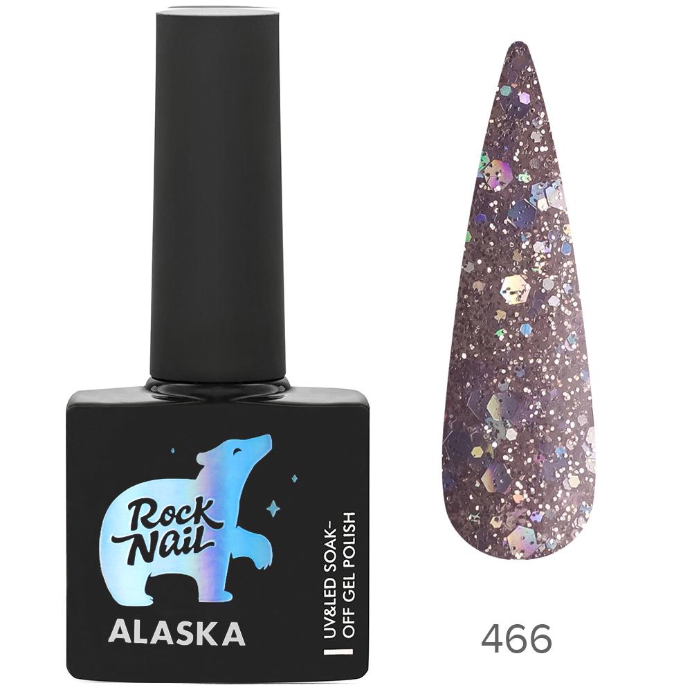Гель-лак RockNail 466 Alaskan Gold 10мл