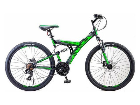 Двухподвес велосипед Stels Focus MD 26