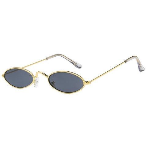 Солнцезащитные очки 183004s Черный в золотой оправе