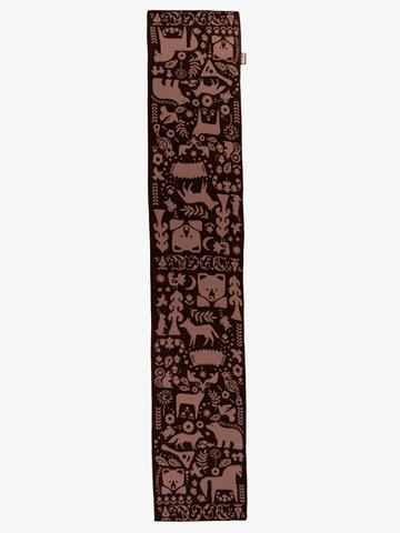 Taiga Trails - brown tones  No. 4.2 (No fringe)