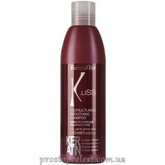 Farmavita K.Liss Restructuring Smoothing Shampoo - Шампунь с кератином после выпрямления волос