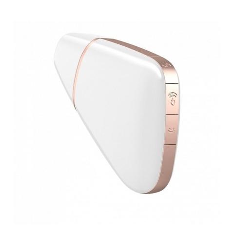 Satisfyer Love Triangle Вакуумно-волновой вибростимулятор с возможностью управления через приложение Белый