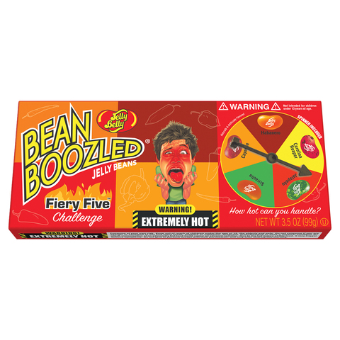 Jelly Belly Bean Boozled Flaming Five Джелли Белли Бин Бузлд острые вкусы 100 гр