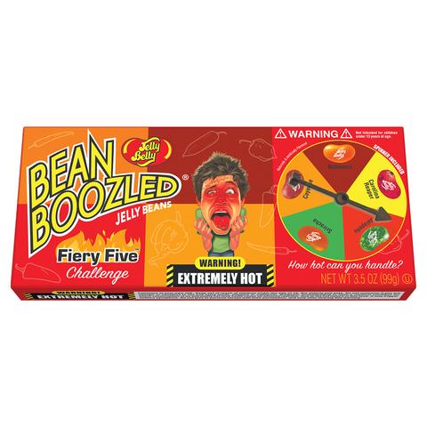 Jelly Belly Bean Boozled Flaming Five Джелли Белли Бин Бузлд острые вкусы 100 гр