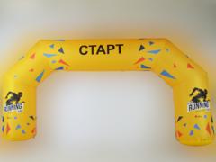 Надувная арка Трапеция (полноцветная печать)