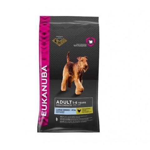 Корм для собак Eukanuba для здоровья костей и суставов, курица (для крупных пород) 15 кг
