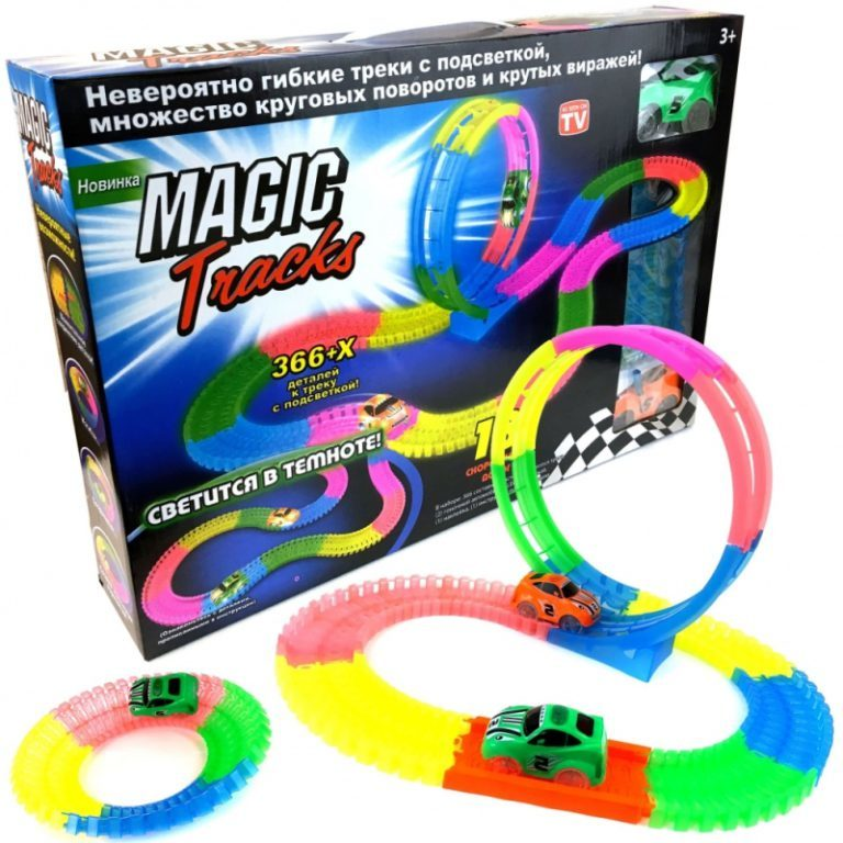 Конструкторы Конструктор Magic Tracks (366 деталей) konstruktor-366a.jpg