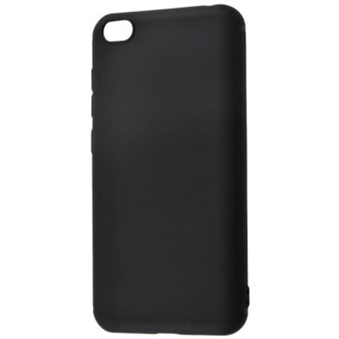 Чехол черный прорезиненный для Xiaomi Redmi GO