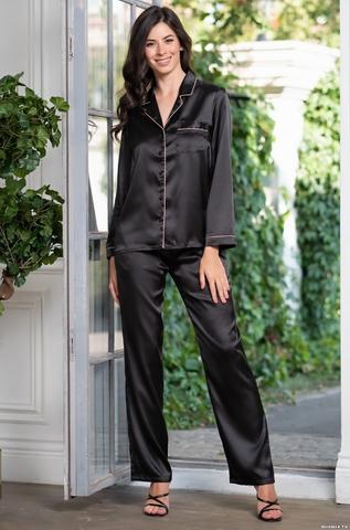 Комплект брючный 2 предмета Mia-Amore Джулия JULIA 8736 черный