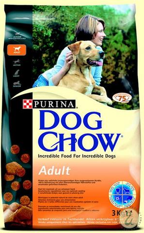 Dog Chow Для взрослых собак с курицей (adult Chicken) 2,5 кг