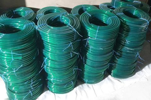 Шланг Ø 18 мм толщина стенки 2.5 мм ( синий / зеленый )