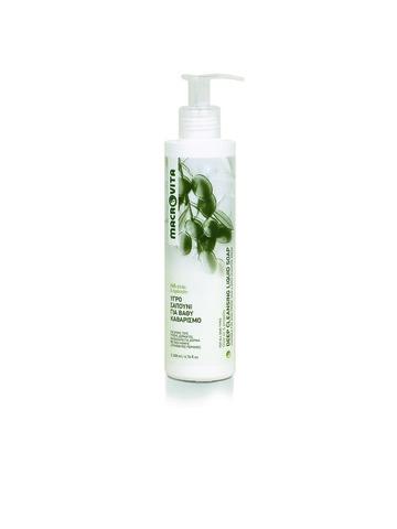 Жидкое мыло для глубокого очищения, 200 мл, Макровита