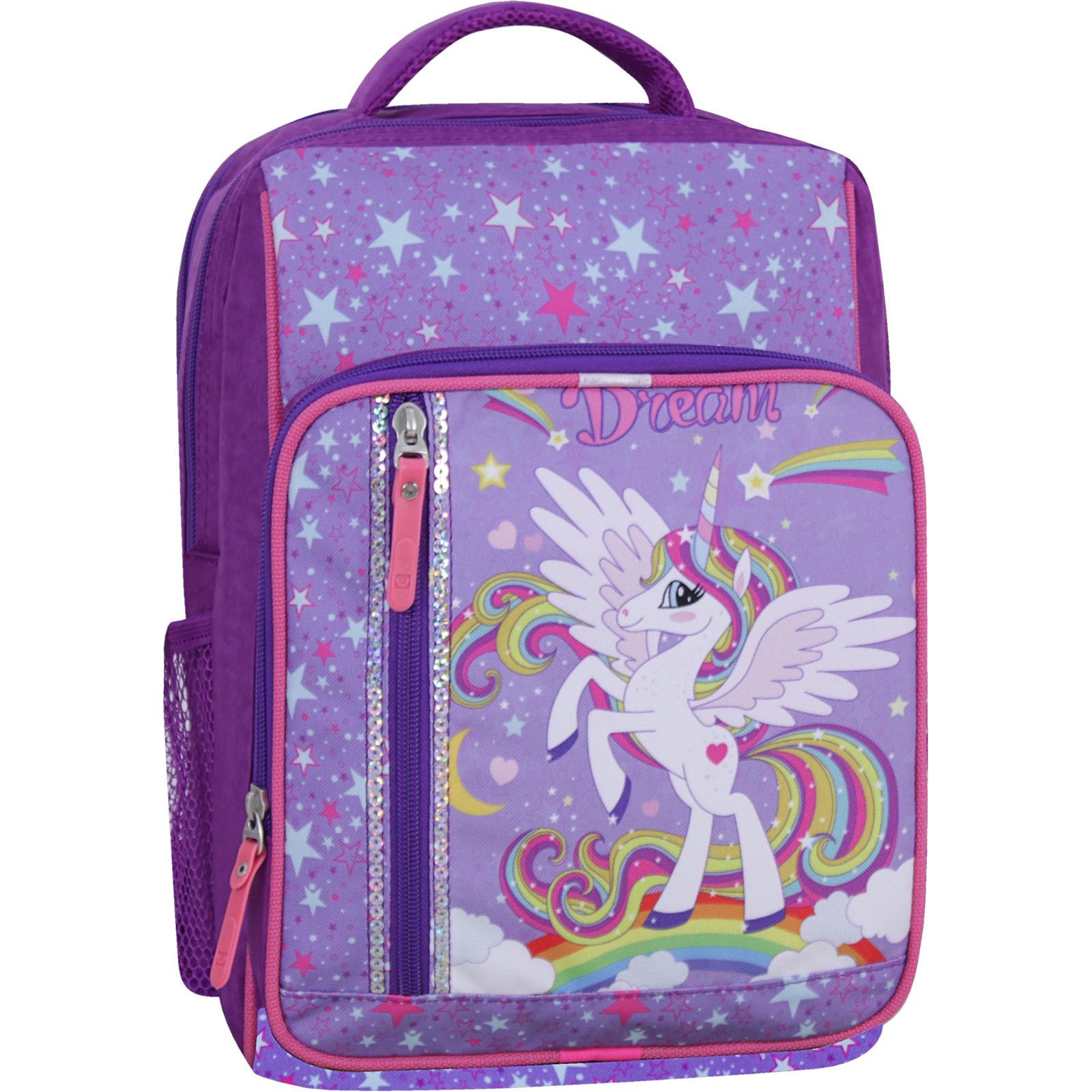 Школьные рюкзаки Рюкзак школьный Bagland Школьник 8 л. фиолетовый 674 (0012870) IMG_2683_суб.674_-1600.jpg