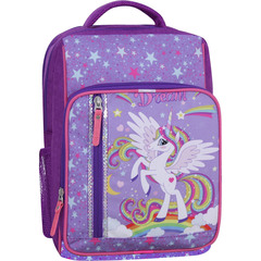 Рюкзак школьный Bagland Школьник 8 л. фиолетовый 674 (0012870)