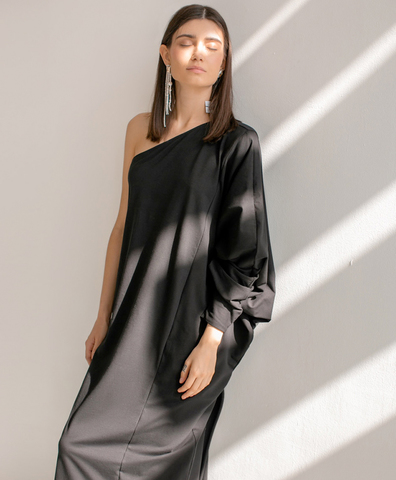 Платье Liber black