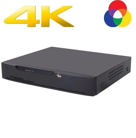 Гибридный видеорегистратор наблюдения на 12 каналов в резолюции Ultra HD 4K CAICO TECH QH 7778 TI 8CH