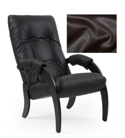 Кресло для отдыха Модель 51 (Oreg.perlam-106/Венге) бежевый