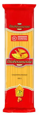 """Макаронные изделия """"Шебекинские""""  спагетти тонкие №002 450 г"""