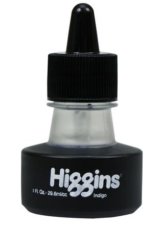 Чернила HIGGINS INDIGO Dye-Based 1 OZ, 29,6 мл