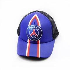 Кепка сетка с логотипом Пари Сен-Жермен (Бейсболка Paris Saint-Germain) синяя