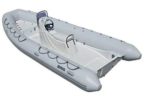 Лодка РИБ с жестким дном BRIG F570S