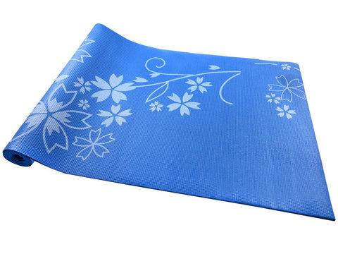 Коврик для йоги и фитнеса YL-Sports 173*61*0,4см BB8304 синий (38987)