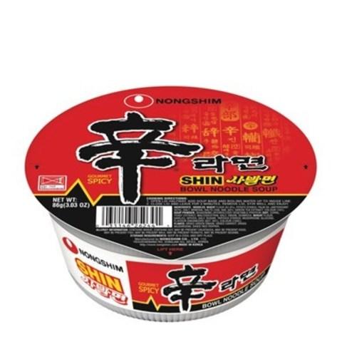 Лапша быстрого приготовления Nongshim Шин Рамен 86 гр