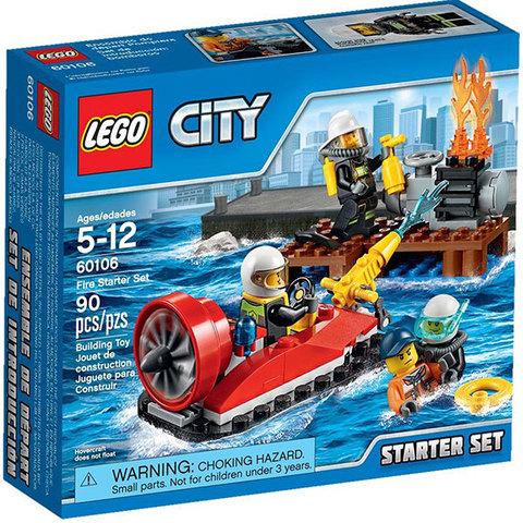 LEGO City: Набор Пожарная охрана для начинающих 60106 — Fire Starter Set — Лего Сити Город
